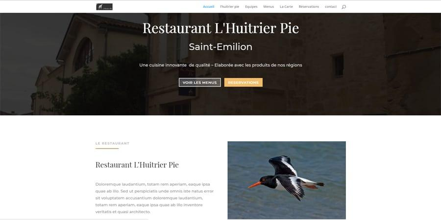 Agence web réalisations DSO Communication Huitrier Pie