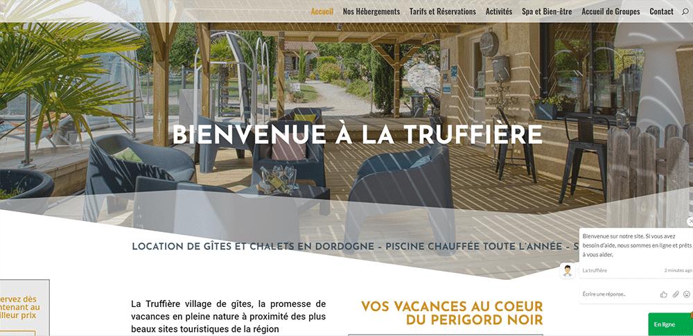 truffière village de gites